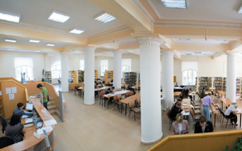 Библиотека информационный центр вуза Читальные залы Читальный зал гуманитарных и естественных наук ЧЗГиЕН ауд 5119